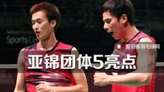 亚羽团体锦标赛,5大亮点不容错过