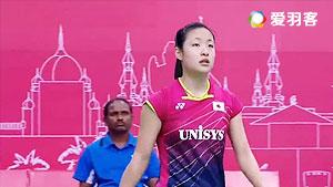 奥原希望VS王适娴 2016亚洲团体锦标赛 女单决赛视频