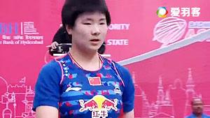 何冰娇VS桥本由衣 2016亚洲团体锦标赛 女单决赛视频