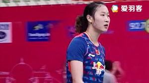 孙瑜VS佐藤冴香 2016亚洲团体锦标赛 女单决赛视频