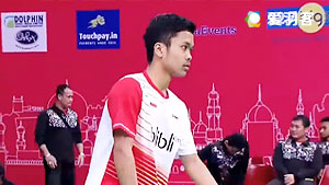 金廷VS佐佐木翔 2016亚洲团体锦标赛 男单决赛视频