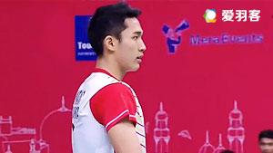 乔纳坦VS西本拳太 2016亚洲团体锦标赛 男单决赛视频