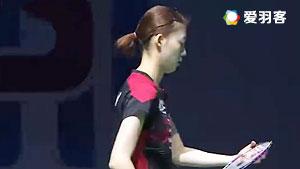 严惠媛/金荷娜VS切尔维亚科娃/奥尔佳 2016德国公开赛 女双1/16决赛视频