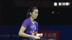 李雪芮VS桥本由衣 2016德国公开赛 女单1/4决赛视频