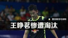 瑞士羽球赛,王睁茗两轮游薛松晋级
