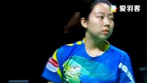 徐薇VS武氏庄 2016奥地利公开赛 女单半决赛视频