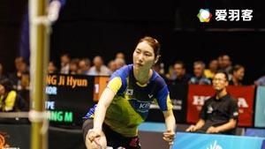 成池铉VS江梅惠 2016新西兰公开赛 女单半决赛视频