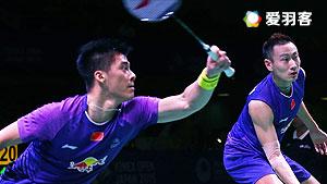 傅海峰/张楠VS古纳万/基多 2016马来公开赛 男双1/16决赛视频