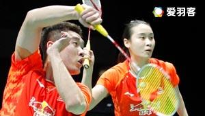 德差波尔/沙西丽VS刘成/包宜鑫 2016马来公开赛 混双1/8决赛视频