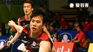 高成炫/申白喆VS古健杰/陈文宏 2016马来公开赛 男双1/8决赛视频