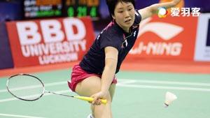 山口茜VS菲比 2016新加坡公开赛 女单1/16决赛视频