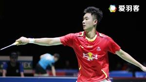 王睁茗VS利弗德斯 2016新加坡公开赛 男单1/16决赛视频