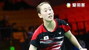 张艺娜/李绍希VS赫特里克/迈克斯 2016新加坡公开赛 女双1/16决赛视频