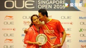 久违的胜利丨新加坡赛男单精彩集锦