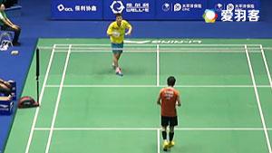 下野知VS吴沅铮 2016中国大师赛 男单资格赛视频
