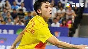 朱思远VS坎迪斯 2016中国大师赛 男单资格赛视频