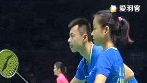 徐晨/马晋VS陈炳顺/吴柳萤 2016中国大师赛 混双半决赛视频