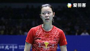 李雪芮VS蓬迪 2016中国大师赛 女单半决赛视频
