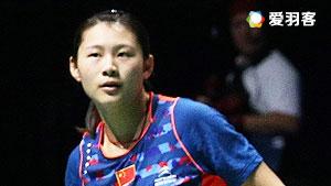 骆赢/骆羽VS陈潇欢/黄美晴 2016中国大师赛 女双1/16决赛视频