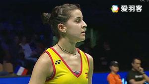 马琳VS山口茜 2017印度公开赛 女单半决赛视频