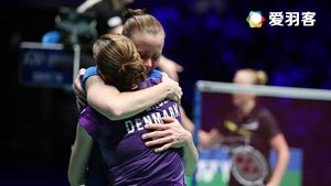 佩蒂森/尤尔VS穆斯肯斯/皮克 2016欧锦赛 女双决赛视频