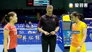 内维尔VS奥原希望 2016尤伯杯 女单小组赛视频