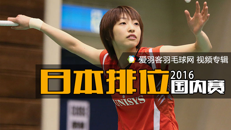 2016年日本国内排名赛