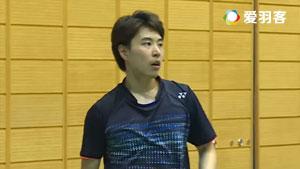 五十岚优VS常山干太 2016日本国内排名赛 男单半决赛视频