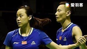 张楠/赵芸蕾VS维迪安托/蒂莉 2016印尼公开赛 混双1/8决赛视频