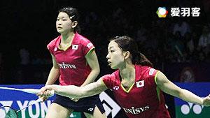 松友美佐纪/高桥礼华VS穆斯肯斯/皮克 2016印尼公开赛 女双半决赛视频