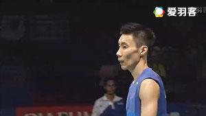 李宗伟VS约根森 2016印尼公开赛 男单决赛视频