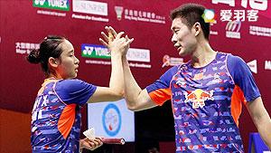 刘成/包宜鑫VS陈健铭/赖沛君 2016澳洲公开赛 混双1/8决赛视频