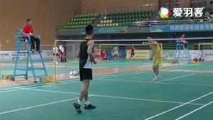2016年成都市运动会羽毛球30~40岁男单半决赛肖立VS杨帆