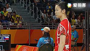 李雪芮VS桑托斯 2016奥运会 女单小组赛视频