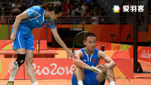 纳西尔/艾哈迈德VS张楠/赵芸蕾 2016奥运会 混双半决赛视频