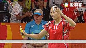 辛德胡VS王仪涵 2016奥运会 女单1/4决赛视频