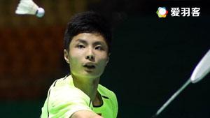 石宇奇VS黄宇翔 2016印尼大师赛 男单决赛视频
