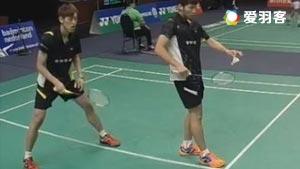 李哲辉/李洋VS诺丁汉/哈雷托勒 2016日本公开赛 男双1/16决赛视频