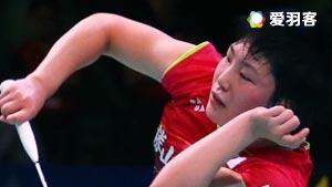 山口茜VS李敏智 2016韩国公开赛 女单1/16决赛视频