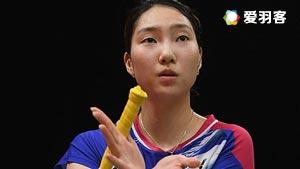 成池铉VS张雁宜 2016韩国公开赛 女单1/16决赛视频