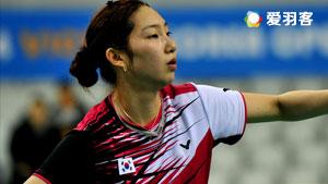 成池铉VS金效旻 2016韩国公开赛 女单半决赛明仕亚洲官网
