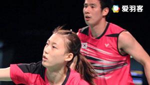 高成炫/金荷娜VS陈炳顺/吴柳萤 2016韩国公开赛 混双半决赛视频