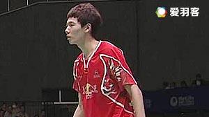 李俊慧/刘雨辰VS王耀新/张御宇 2017新加坡公开赛 男双1/8决赛视频