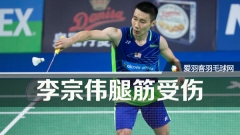 叶诚万:李宗伟腿筋受伤致输球