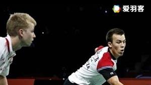 索伦森/安德斯VS郑义锡/金德英 2016法国公开赛 男双1/8决赛明仕亚洲官网