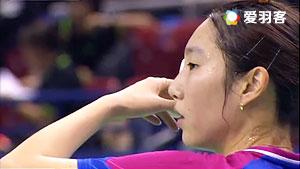 成池铉VS戴资颖 2016法国公开赛 女单1/4决赛视频