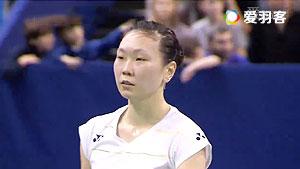 张蓓雯VS孙瑜 2016法国公开赛 女单半决赛视频