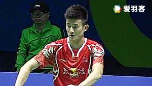 谌龙VS苏吉亚托 2016中国公开赛 男单1/16决赛明仕亚洲官网