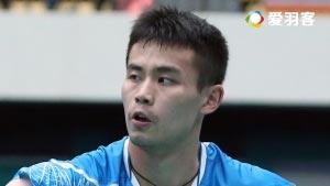 乔斌VS普拉诺 2016中国公开赛 男单1/8决赛明仕亚洲官网