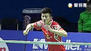 谌龙VS石宇奇 2016中国公开赛 男单1/8决赛视频
